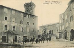 Joyeuse: Place De La Recluse - Joyeuse