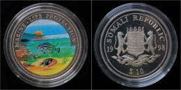 Somalia 10 Dollar 1998- Marine-life Protection - Somalie