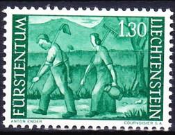 LIECHTENSTEIN 1959-64 YT N° 348A ** - Liechtenstein