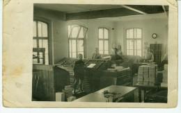 Druckerei -ca.1920 - Setzerei - Ort Nicht Bekannt -Ungel.-Eckknicke - Other
