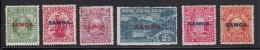 Samoa MH Scott #114-#119 SG #115-#121 Set Of 6 Samoa Overprint On NZ Edward VII, Lake Wakatipu - Samoa