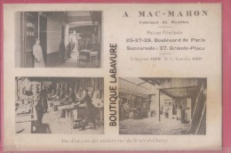 59 - ROUBAIX--MAC-MAHON-Fabrique De Meubles-25 Bld De Paris--Vue D'un Coin Des Ateliers Rue Général Chanzy - Roubaix