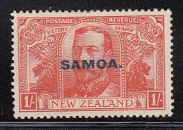 Samoa MH Scott #141 SG #148 Samoa Overprint On NZ 1sh Victory Issue - Samoa