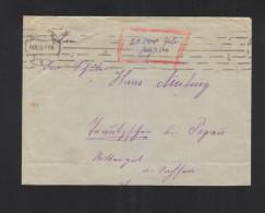 Brief Essen Gebühr Bezahlt 1923 - Allemagne