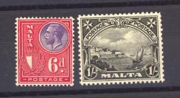01104  -   Malte  :   Mi  124-25  * - Malta