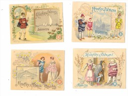 8012 - Lot De 4 Chromos HUNTLEY Et PALMERS, Biscuits - Confiserie & Biscuits