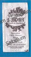 CASTELL DE GUADALEST - BUSTINA DI ZUCCHERO VUOTA - Sugar Empty - Sugars