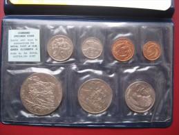 New Zealand 1970 Coin Specimen UNC Set 1 Cent - 1 Dollar Royal Australian Mint - New Zealand
