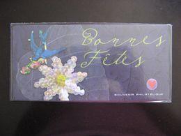 TB B.F. Souvenir N°35 : Bonnes Fetes, Sous Blister, Neuf XX. - Blocs Souvenir