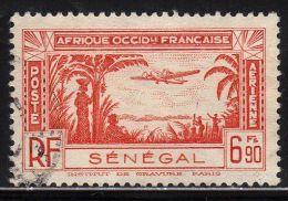 SÉNÉGAL : Poste Aérienne N° 17 Oblitéré - PRIX FIXE - - Oblitérés