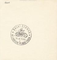 J4783 - Czechoslovakia (1950) Dolni Cermna (a): International Speedway (motorcycle Racing) - Motorbikes