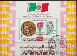 Yemen CTO SS - Summer 1968: Mexico City