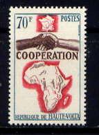 Hte VOLTA - N° 136** - COOPERATION AVEC LA FRANCE - Haute-Volta (1958-1984)