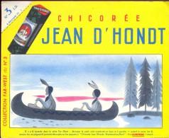Buvard Vloeipapier Reclame Chicorée Jean D´Hondt Wambrechies Nord - Far West Kano Indiaan Indien - Café & Thé