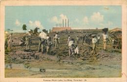 TRIN - FAMOUS PITCH LAKE - LA BREA - TRINIDAD- 1024 A - Trinidad