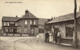 76 Quiberville Sur Mer. Une Rue - France