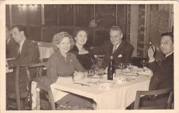 24408 Carte Photo Belgique, Restaurant Café, Le Globe, Kermesse Aux Boudins -1954 - Belgique