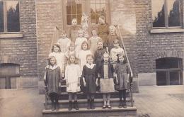 24409 Carte Photo Belgique, Ecole Filles Catholique, Mai 1921 - Belgique