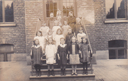 24409 Carte Photo Belgique, Ecole Filles Catholique, Mai 1921