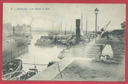 Dendermonde / Termonde - Le Bassin Et Quai - 1911 ( Verso Zien ) - Dendermonde