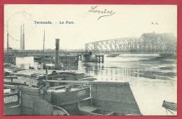 Dendermonde / Termonde - Le Port - 1905 ( Verso Zien ) - Dendermonde