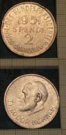 M_p> Austria Elezioni Del Presidente Federale - Donazione 2 Scellini 1951 - Monetari / Di Necessità