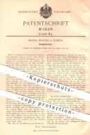Original Patent - Bernh. Dräger In Lübeck , 1901 , Knallgasbrenner , Gasbrenner , Gas , Gase , Brenner !!! - Historische Dokumente