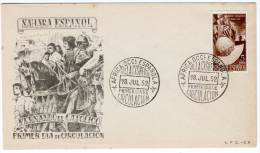 FDC - Sahara Espagnol - 1952 - 5e Centenaire De La Naissance De Ferdinand Le Catholique - Sahara Spagnolo