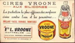 Buvard Vloeipapier Reclame Cires Vroone Wattrelos - Produits Pharmaceutiques