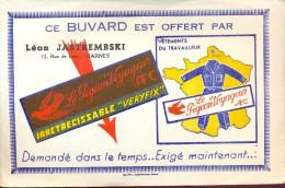Buvard Vloeipapier Reclame Vetements Le Pigeon Voyageur - Leon Jastremski - Harnes - Textile & Vestimentaire