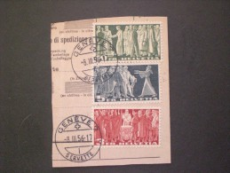 STAMPS SVIZZERA 1938 Definitive Issues - Lettres & Documents