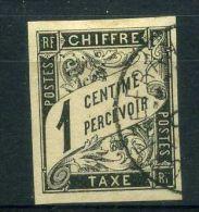 COLONIES  GENERALES  ( TAXE ) :  Y&T  N°  1   TIMBRE  AVEC  TRES  BELLE  OBLITERATION ,  A   VOIR . - Taxes