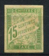 COLONIES GENERALES  ( TAXE ) :  Y&T  N°  20   TIMBRE  NEUF  AVEC  TRACE  DE  CHARNIERE ,  A   VOIR . - Postage Due