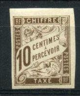 COLONIES  GENERALES  ( TAXE ) :  Y&;T  N°  19   TIMBRE  NEUF  AVEC  TRACE  DE  CHARNIERE ,  A   VOIR . - Postage Due