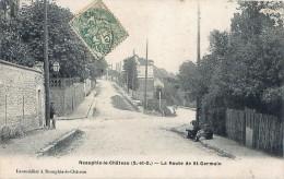 Cpa NEAUPHLE LE CHATEAU 78 La Route De Saint Germain - Neauphle Le Chateau
