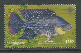 Singapore, Yv 1810 Jaar 2011,  Hoge Waarde, Gestempeld, Zie Scan - Singapour (1959-...)