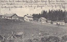 Autriche - Bödele - Alpenhôtel - Passhöhe Dornbirn - Schwarzenberg -   Postmarked Dornbirn 1909 - Dornbirn