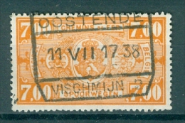 """BELGIE - OBP Nr TR 159 - Cachet  """"OOSTENDE-VISCHMIJN 2"""" - (ref. VL-9917) - Spoorwegen"""