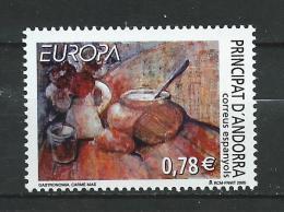 Andorra Spanish Andorra.2005 Europa CEPT - Agriculture.MNH - Neufs