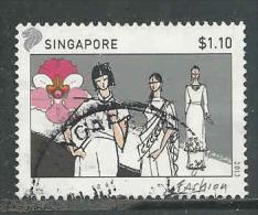 Singapore, Yv Uit 1995 Jaar 2013,  Hoge Waarde, Gestempeld, Zie Scan - Singapour (1959-...)