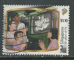Singapore, Yv Uit 2001 Jaar 2013,  Hogere Waarde, Gestempeld, Zie Scan - Singapour (1959-...)
