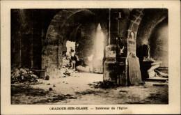 87 Oradour-sur-Glane Interieur Eglise Ruine - Oradour Sur Glane