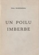 POILU IMBERBE RECIT GRANDE GUERRE SOLDAT 36 RI INFANTERIE 1915 TRANCHEE