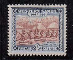Western Samoa MH Scott #183 SG #197 2 1/2p Samoan Dancing Party - Samoa