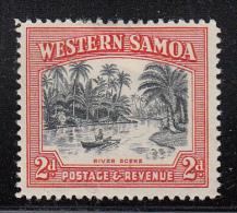 Western Samoa MH Scott #187 SG #202 2p River Scene - Samoa