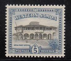 Western Samoa MH Scott #189 SG #205 5p Apia Post Office - Samoa
