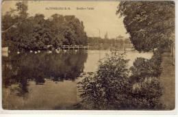 ALTENBURG S.-A. -  Großer Teich,   1922,  Gel. Nach Laakirchen, OÖ - Non Classés