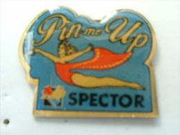 Pin´s PIN UP´S - PIN ME UP SPECTOR - Pin-ups