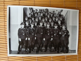 Deutschland Erwacht Sammelwerk Nr. 8: Sammelbild Nr. 185, Gruppe 28, SS-Führer Himmler Mit Den Führern Der SS - Vecchi Documenti