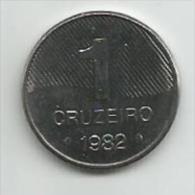 Brazil 1 Cruzeiro 1982. UNC FAO - Brésil